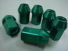 100 New Green Tuner Lug Nuts 12x1.5 35mm