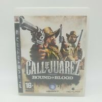 Call of Juarez Bound in Blood Sony PlayStation 3 PS3 2009 PAL Free P&P