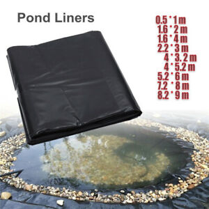 5'x10' HDPE Pond Liner Landscaping  Pool Waterproof Liner Heavy Duty  #