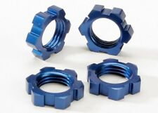 NEW Traxxas 5353 Wheel Nuts Splined 17mm Blue (4) T-Maxx 3.3 Nitro *SHIPS FREE*