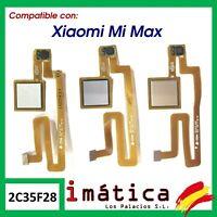 BOTON HOME FLEX CABLE PARA XIAOMI MI MAX LECTOR HUELLAS PRINCIPAL CENTRAL