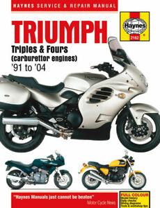 Haynes Workshop Manual For Triumph Trophy 1991-1996 (1200 CC)