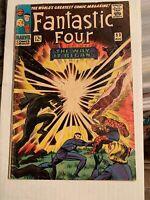 Fantastic Four #53 (Aug 1966, Marvel) Origin, 2nd App. Black Panther