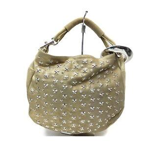 JIMMYCHOO Shoulder Bag  Gold Polyester 1730012