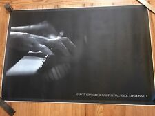 1981 artist HARVEY EDWARDS Royal Festival Hall LITHO POSTER music art