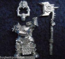 2008 chaos warrior choisi 4 citadel warhammer armée mal hordes fighter champion