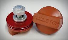 Kool Stop BMX International Red & Salmon Brake Pads - Sold In Pairs