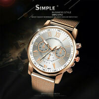 New Women Watch Stainless Steel Analog Quartz Dress Bracelet Wrist Watch JP