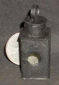 Dollhouse Miniature Spanish Independence Black Metal Lantern Lamp 1:12 #TP1145