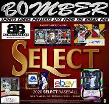 St. Louis Cardinals 2020 Panini Select Baseball 4 Box 1/3 Case Break 1
