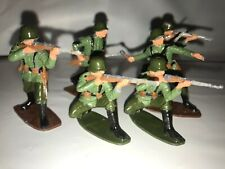 AIRFIX WWII GERMAN INFANTRY SET OF 6 SOLDIERS 1/32 SCALE PAINTED