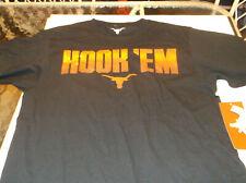 Texas Longhorns Team Apparel Hook Em Iron shirt S