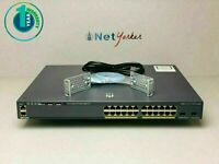 Cisco WS-C2960X-24PD-L • 24 Port PoE 2960X LAN BASE SWITCH ■ SAME DAY SHIPPING ■