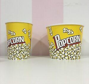 Contenitore Bicchiere Pop Corn Ciotola Popcorn per Cinema Cartone due misure