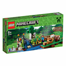 LEGO ® Minecraft® 21114 Die Farm Steve, Skelett, Kuh, Schaf Neu OVP New