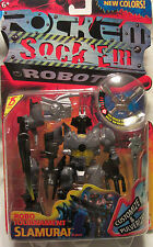 Rock Em Sock Em Robots Robo Tournament Slamurai 2001 Mattel NEW