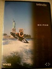 Surfing  WAVES MAGAZINE - SIX PINS  AS NEW  DVD Sport R4 Aust