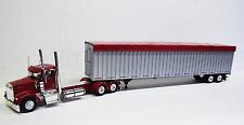 Kenworth W900L day cab (Red ) with 53' Walking Floor