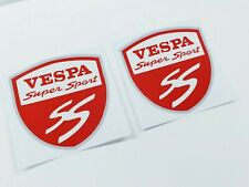 Vespa SS Super Sport 80mm decals sticker graphics side panel GTS 125 250 300