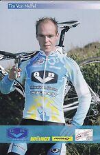 CYCLISME carte cycliste TIM VAN NUFFEL équipe AVB  cyclo cross