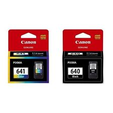 2x Genuine Canon cartridges PG-640 PG640+CL-641 CL641 for MG2160 MG3560 MX396