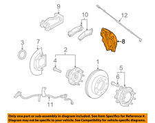 GM OEM Front Brake-Disc Caliper 23398897