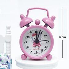 BBtoysHK 1:6 Doll House Miniature Decoration Mini Toy Clock Set PINK