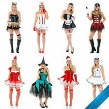 Womens Ladies Fancy Dress Costume outfit Halloween Roll Play Hen Party