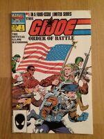 GIJOE Order Of Battle Official Handbook Comic #1 Hama Writer Trimpe Art