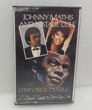 JOHNNY MATHIS & NATALIE COLE UNFORGETTABLE--CASSETTE TAPE--FREE UK SHIPPING