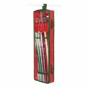 Whitmor Hanging Gift Wrap Organizer Closet Rod Door Organizer Portable Brand New