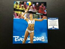 Misty May Treanor signed autographed USA volleyball 8x10 photo Beckett BAS coa
