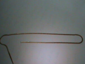 48 Inches Fine Quality 14kt Gold Filled S Link Chain New Off Roll 4 FEET !