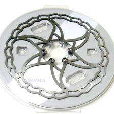 gobike88 The World's Lightest ASHIMA Ai2 Disc Rotor, 180mm, 102g, Silver, R05