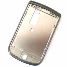 100% Genuine BlackBerry 9800 Torch FRONTALINO Alloggiamento Schermo Surround GRIGIO