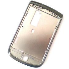 100% Original Blackberry 9800 Torch Frontal Bisel Carcasa Pantalla envolvente Gris