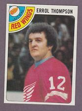 1978-79 Topps Hockey Errol Thompson #57 Detroit Red Wings NM/MT