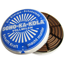 Scho-Ka-Kola German High Caffeine Milk Chocolate Energy Boost Sweet Cola Nut
