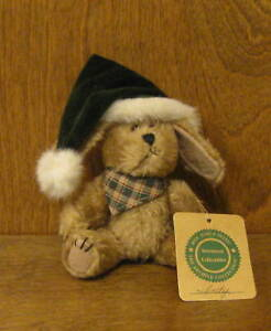 """Boyds Plush #91757-10 INDY, Fall '98, 5.5"""" NEW/Tag From Retail Store DOG Jointed"""