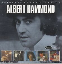 Albert Hammond / Free Electric Band, When I Need You, It Never u.a. (5 CDs,OVP!)