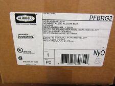 HUBBELL PFBRG2 FLOOR BOX