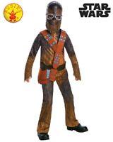 RUBIES Boys Costume Fancy Dress Licensed Star Wars Movie Chewie Chewbacca 641223