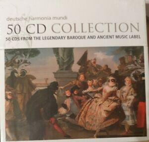Deutsche Harmonia Mundi - 50 CD Collection  Classical, new and sealed Box Set