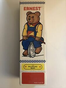 Ernest The Balancing Bear Unicycle Toy Schyilling