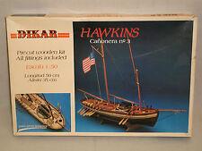 Dikar 1/50 Scale Hawkins Gunboat No. 3