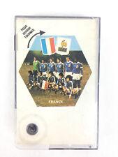 Carte Promo Foot Football Cassettes 1978 Vintage Platini Coupe Du Monde France
