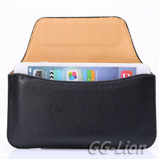 """Belt Clip Sleeve Pouch Holster Leather Case Cover  for iPhone 8 Plus,5.5"""""""