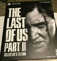 The Last of Us Part II 2 Collectors Edition Sony (PlayStation 4, 2020) PS4