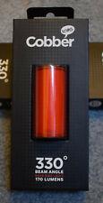 Knog Mid Cobber Rear LED Bike Light Rechargeable, USB, programable