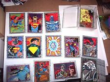 1993 RETURN OF SUPERMAN Skybox base 100 Card Set! DC COMICS REIGN OF SUPERMAN!